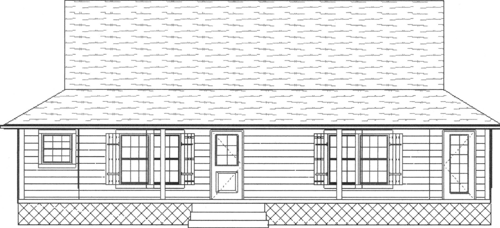 Florida cracker model for Florida cracker house plans wrap around porch